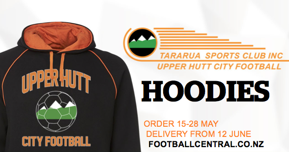 Club Hoodies – order by 28 May for June delivery