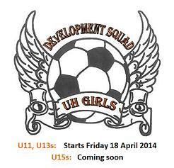Girls Development Squad 2014 – Applications Open