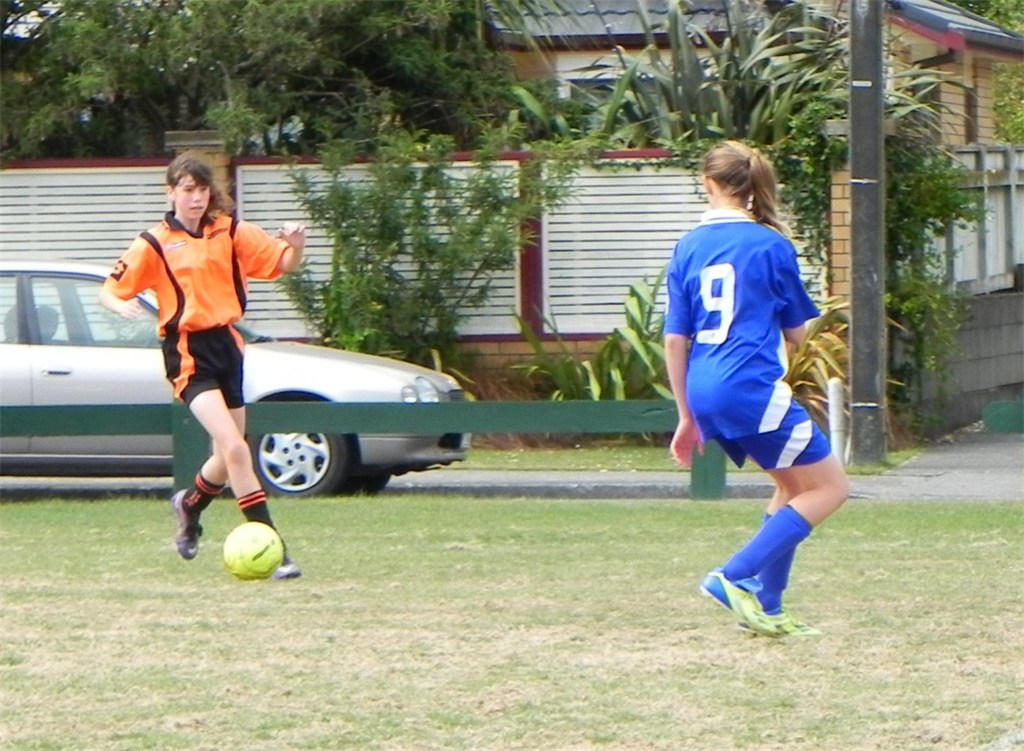 Talent shining bright during summer of football for Upper Hutt Girls' Squads