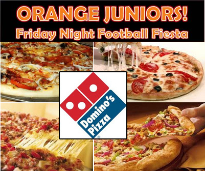 Friday Night Football – with Pizza!