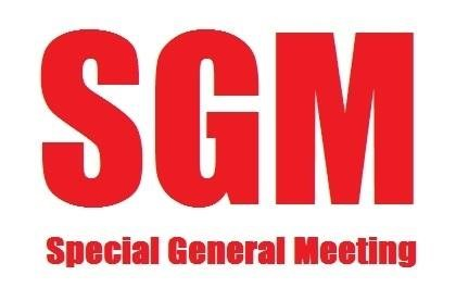 Special General Meeting