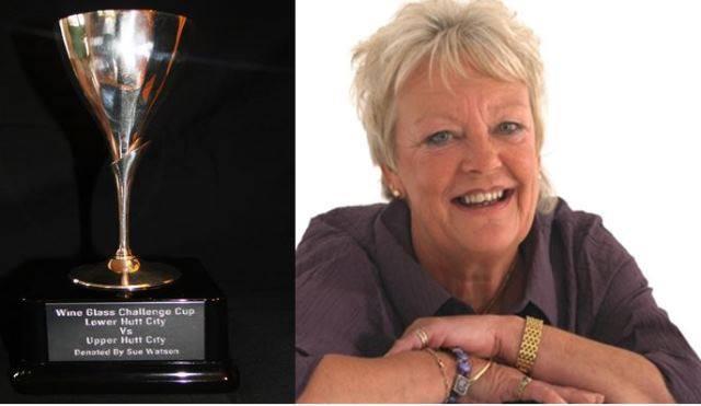 Sue Watson Wineglass Challenge