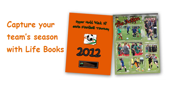Capture your team's season with LifeBooks