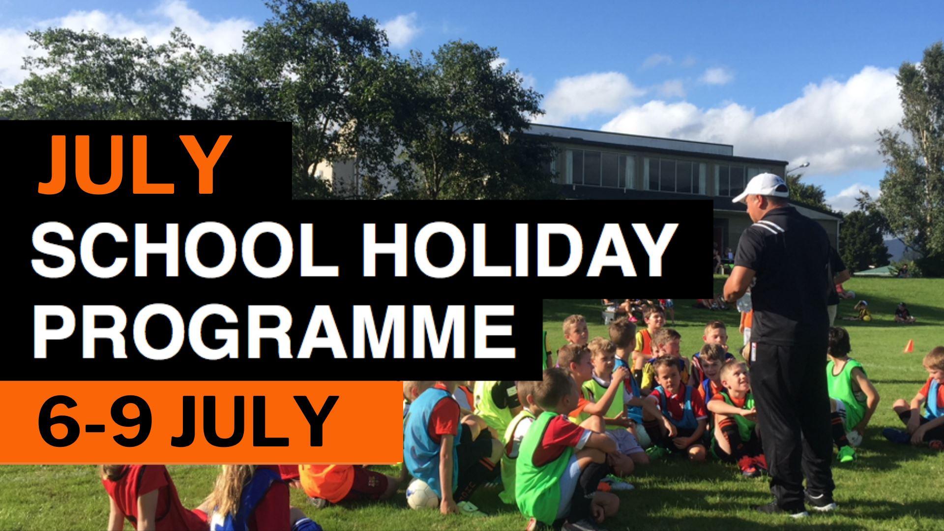 July School Holiday Programme